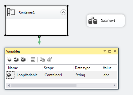Biml Simple Loop Container