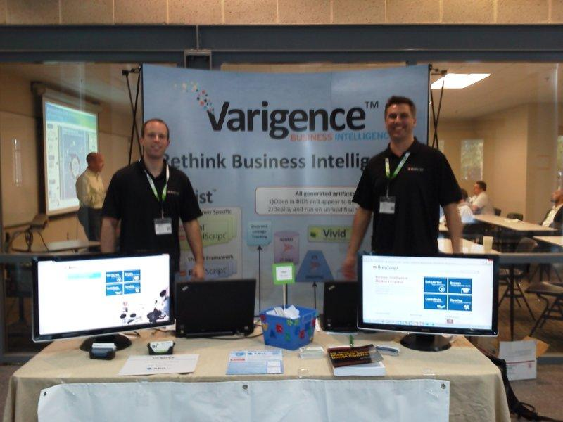 SQL Saturday #174- Varigence Booth
